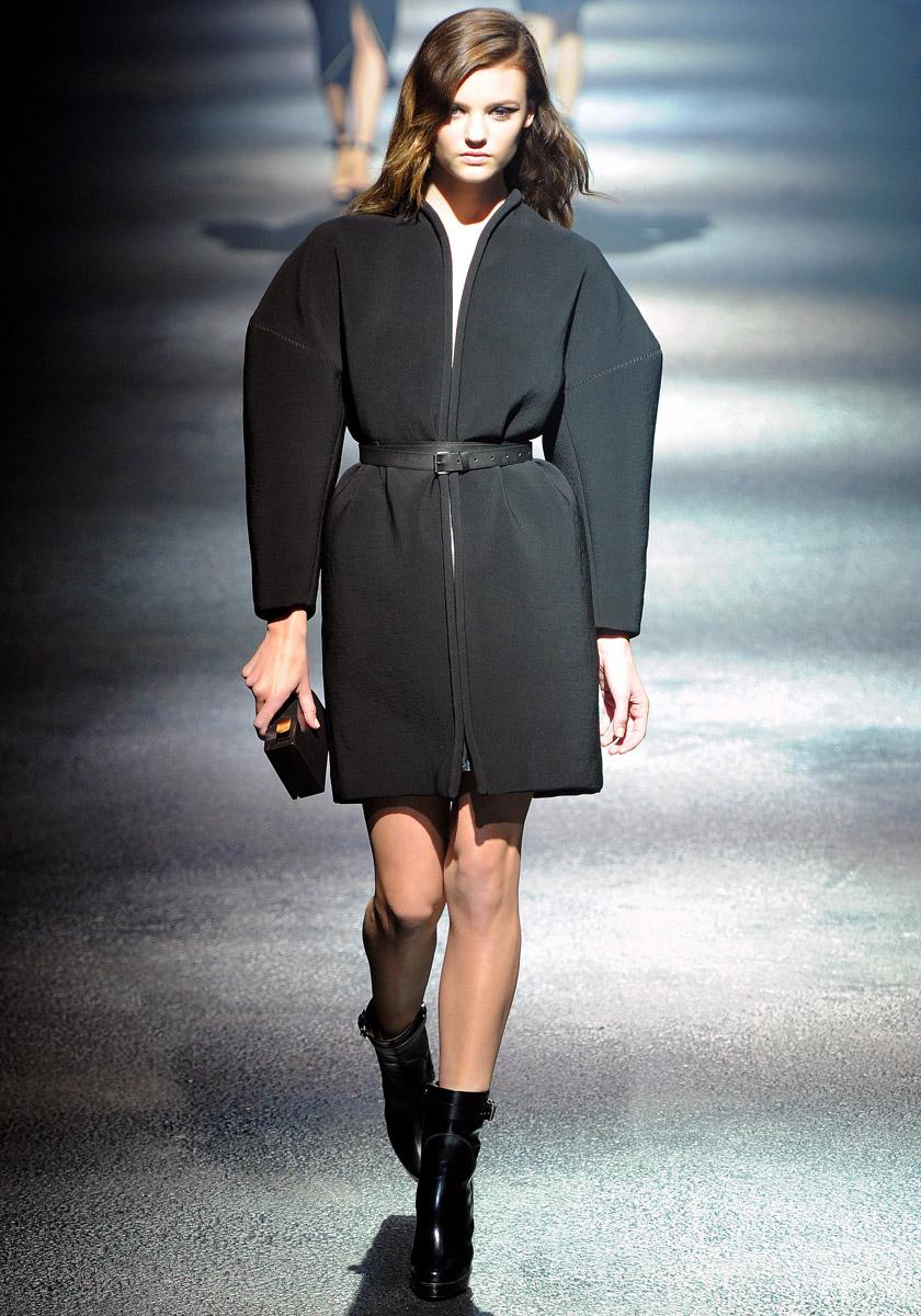 женское пальто осень-зима 2012-2013 г. Коллекция модной одежды.