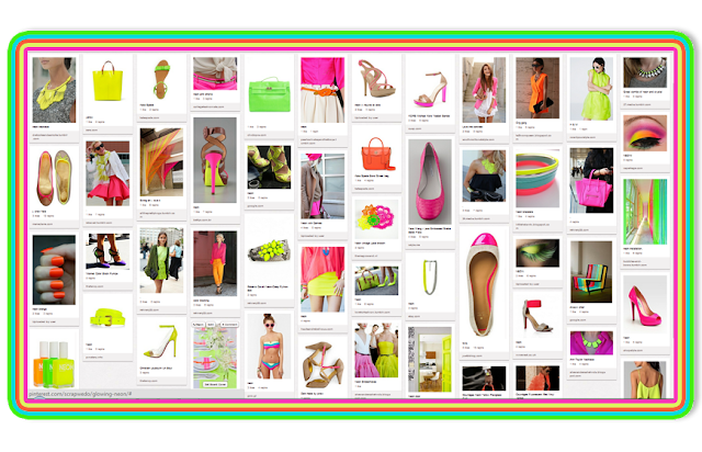 Glowing Neon Pinterest Board By Pascale De Groof