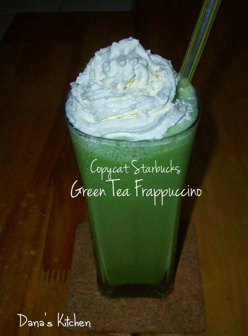 Dana\'s Kitchen: Copycat Starbucks Green Tea Frappuccino