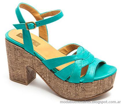 Sandalias verano 2015 moda Traza calzados.