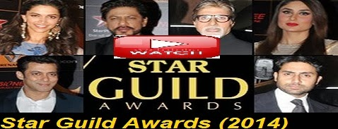 Star Guild Awards (2014) -Khan War Ends: Shahrukh and Salman hug