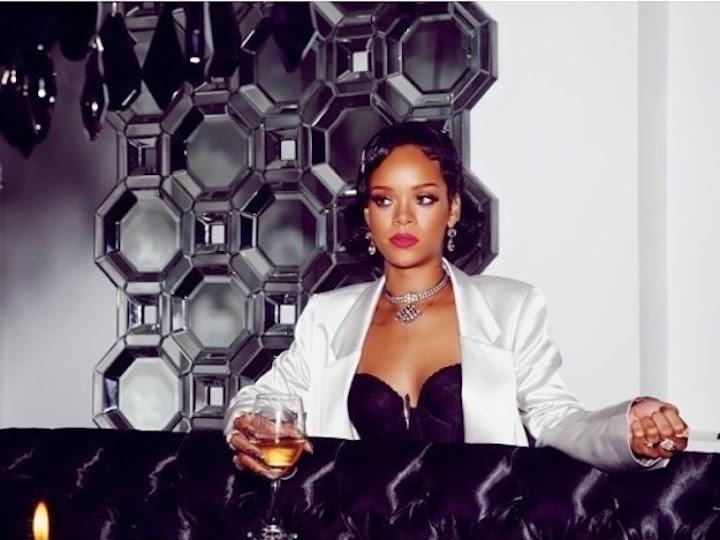 Rihanna New Years Eve 2014