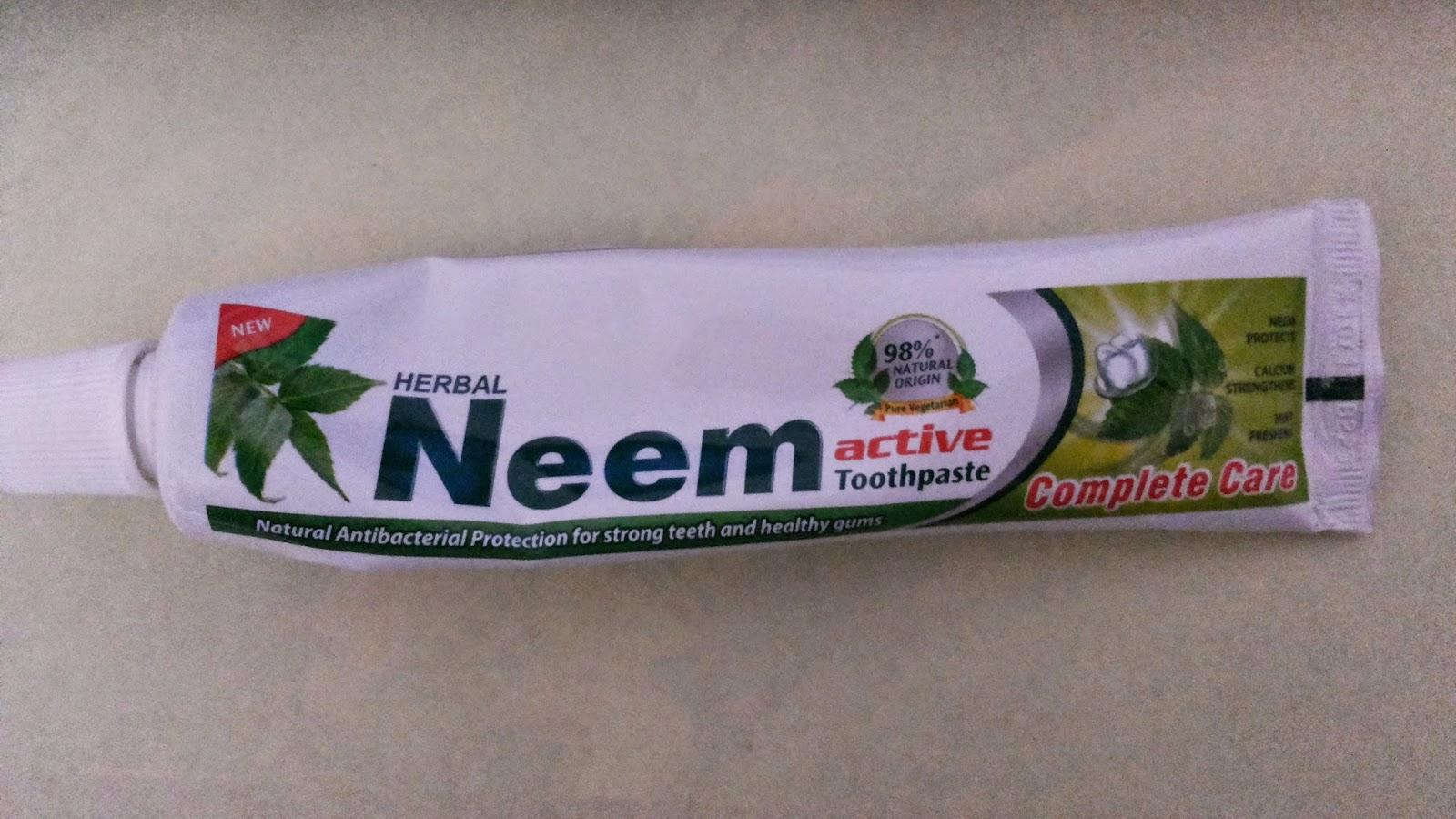 ubat gigi, neem, ubat gigi neem, ubat gigi herba, pure vegetarian, natural, herbal