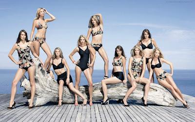 Beautiful Nine Girls Photography