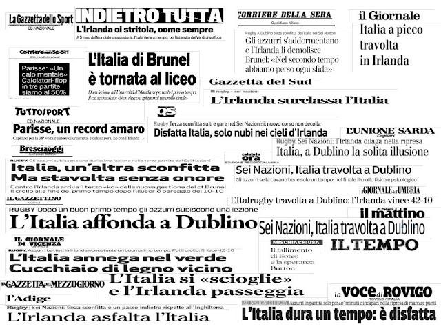 ITALRUGBY AL SEI NAZIONI : E' UN SUCCESSO O UN INSUCCESSO ?