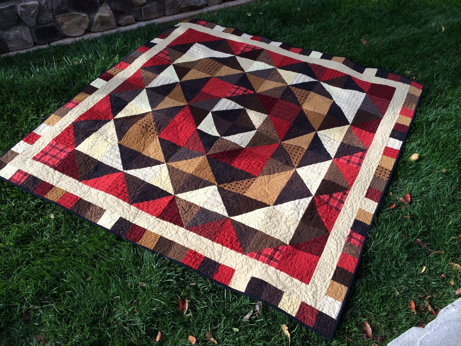 Quilt Patterns For A Man : Popcorn and Apples: On Man Quilts and Such