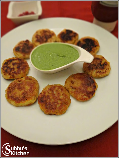 Aloo Tikki (Potato Patti)
