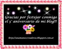 Certificado Reto CumpleBlog Anama