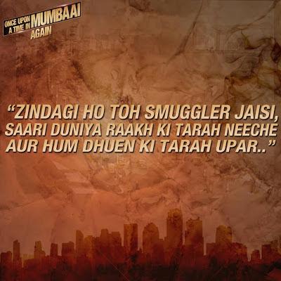 Once Upon A Time In Mumbaai Dialogue