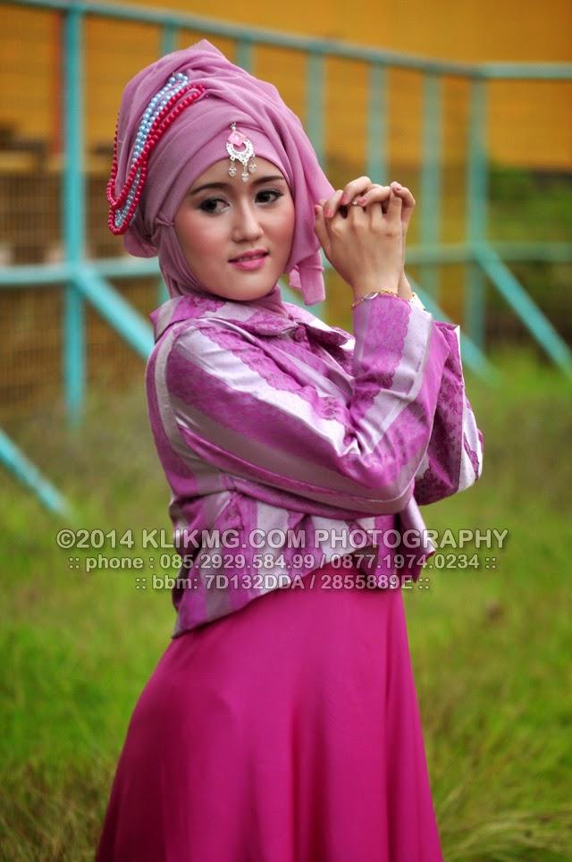 Model Hijab (1) Bukber Komunitas Fotografer Banyumas di GOR Satria, 20 Juli 2014