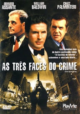 Filme Poster As Três Faces do Crime DVDRip XviD Dual Audio & RMVB Dublado