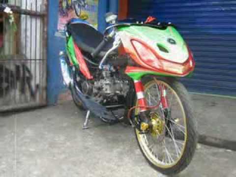 ... motor drag yang lengkap dan motor motornya keren abbesss cekidot gak