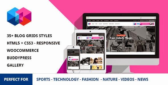 News Magazine Wordpress Theme