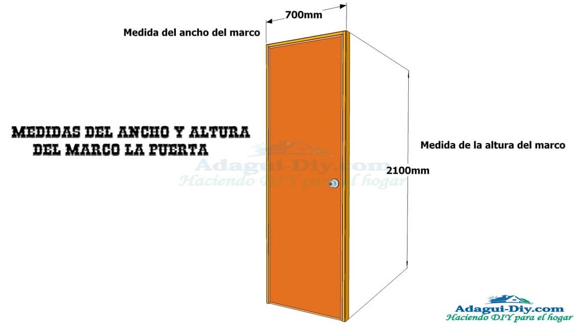 Galería de imagenes para construir una puerta contraplacada de ...