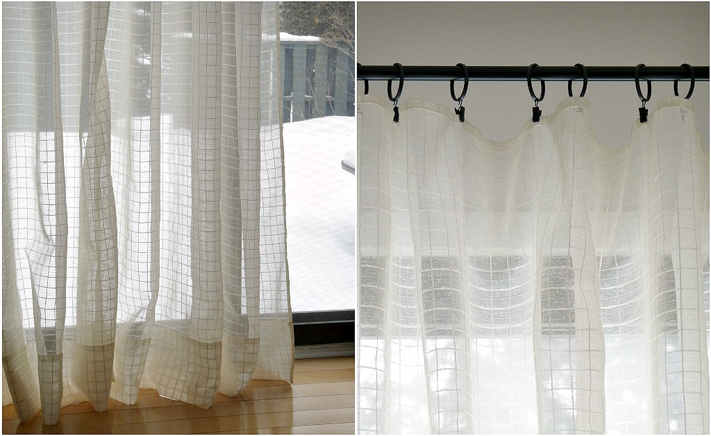 Sheer curtains and blinds ideas home ideas designs for Sheer panel curtain ideas