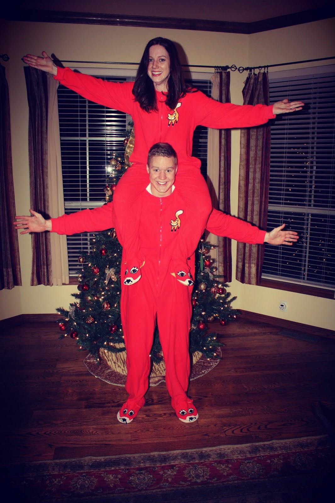 Kids Christmas Footie Pajamas