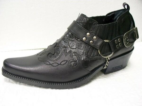 Виды мужской осенней обуви, сапоги казаки