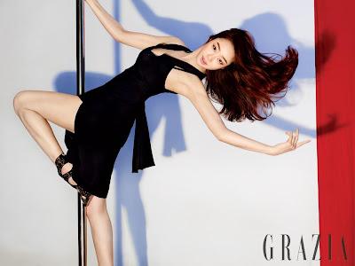 Choi Yeo Jin - Grazia Magazine May Issue 2013