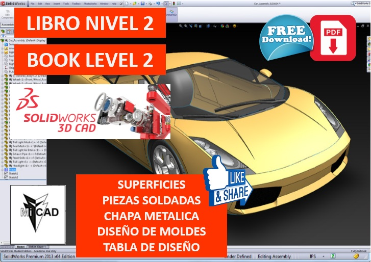Libro Solidworks Nivel 2