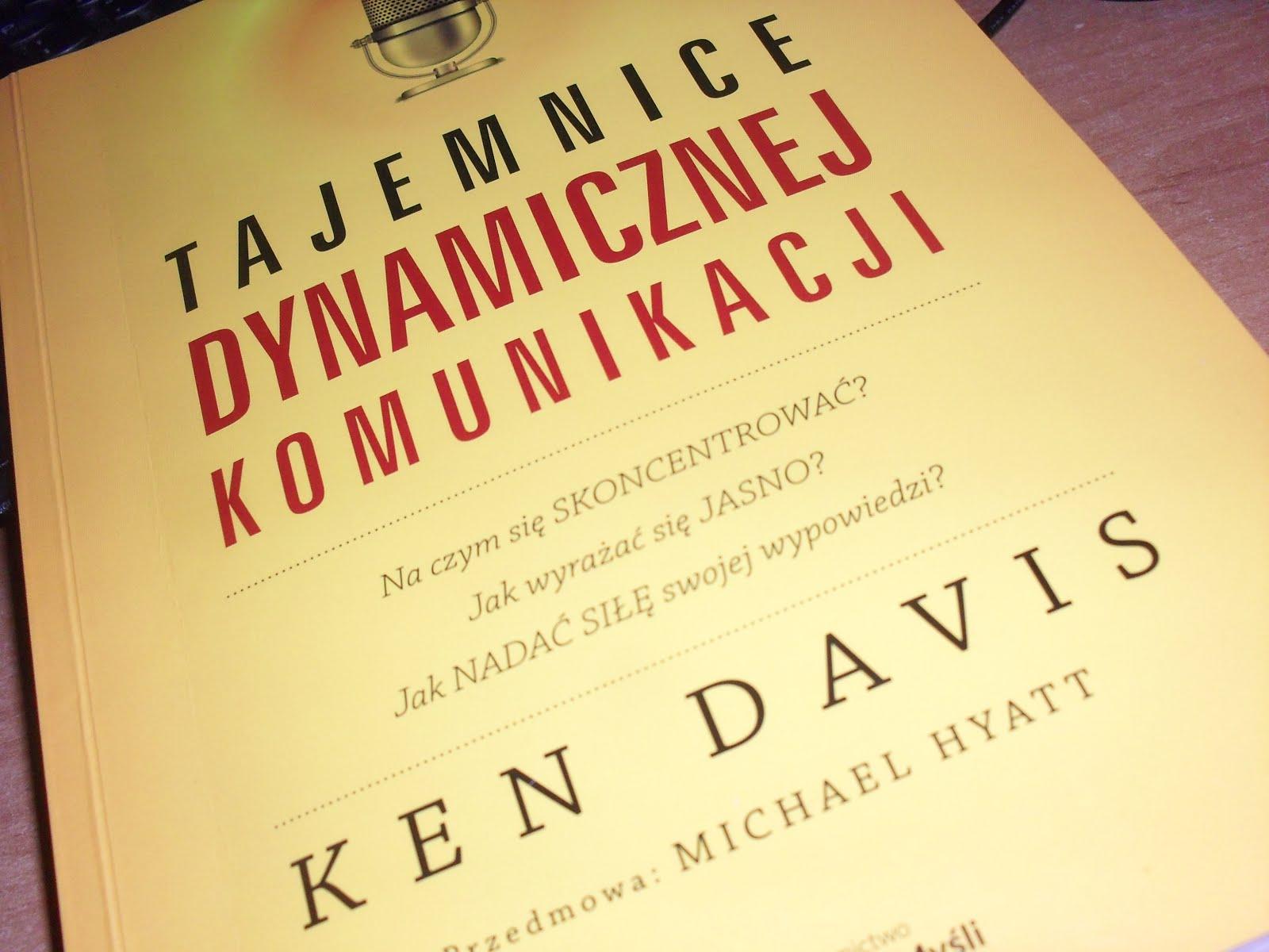 """KONKURS: """"Tajemnice dynamicznej komunikacji"""" Kena Davisa"""