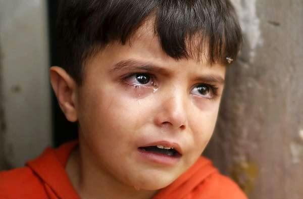 Air Mata Kesedihan Anak-anak Gaza