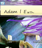 Tablet i pismo odręczne w  windows - Zrzut ekranu