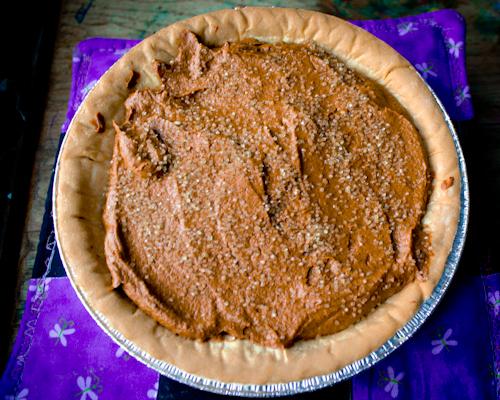 Craft Knife: Chocolate Pumpkin Icebox Pie from the Pantry Stash