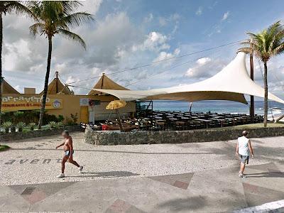 Barravento Restaurante & Chopperia: Fachada (foto: Google Street View)