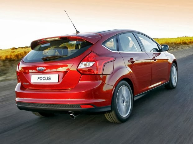 Traseira do Novo Focus Hatch 2014