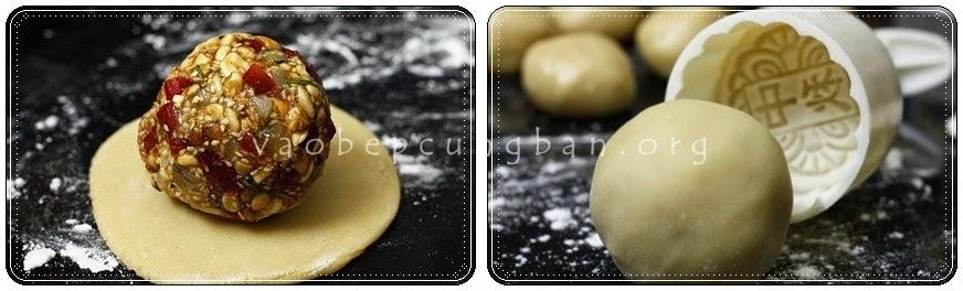 Cách làm bánh trung thu thập cẩm tại nhà cổ truyền dễ làm 2
