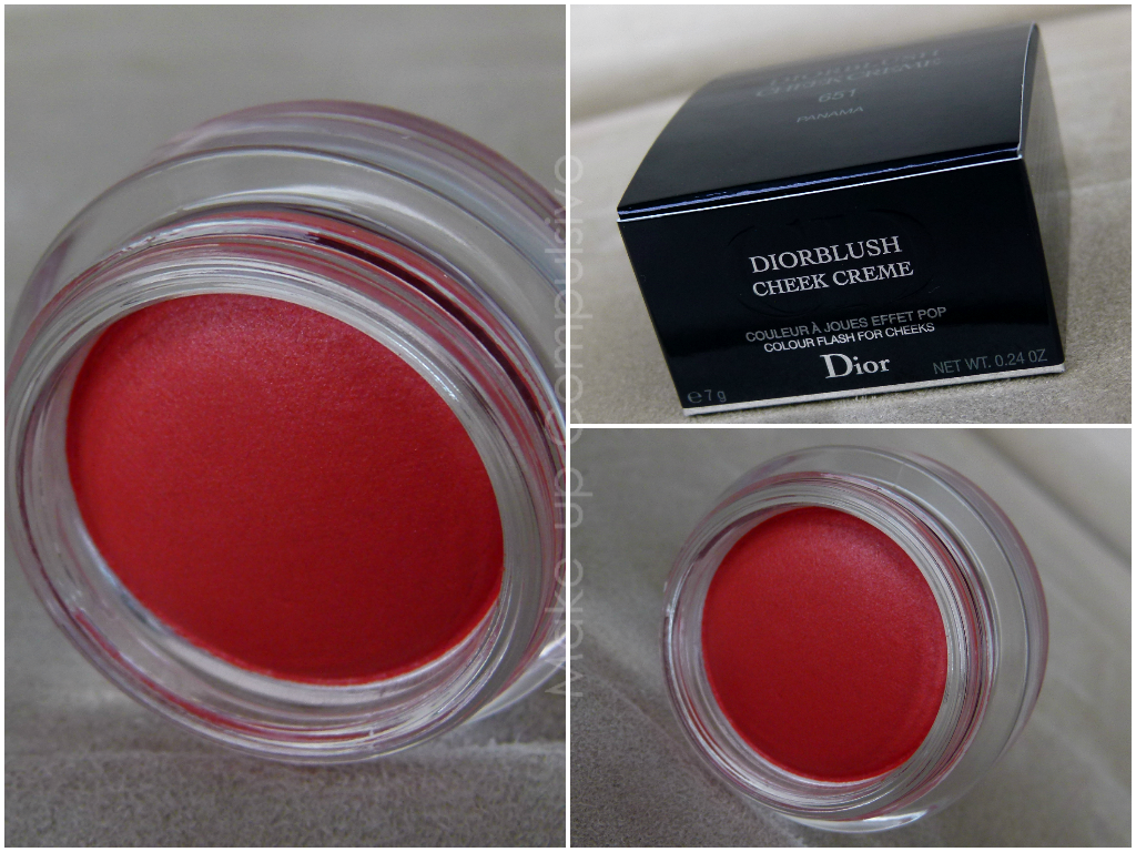 Diorblush Cheek Creme in Panama: prime impressioni e swatches