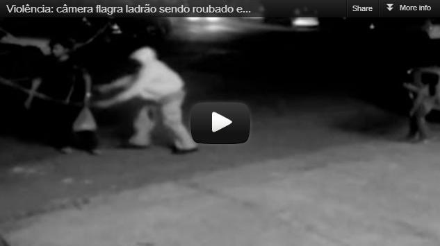 Ladrão rouba ladrão em São Paulo!