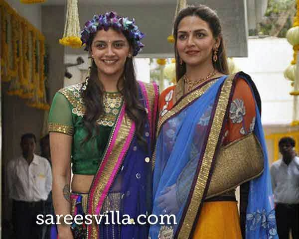 Ahana Deol and Esha Deol