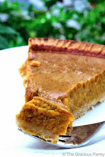 Clean Eating Pumpkin Pie, Thanksgiving