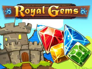 لعبة المجوهرات والماس Royal Gems