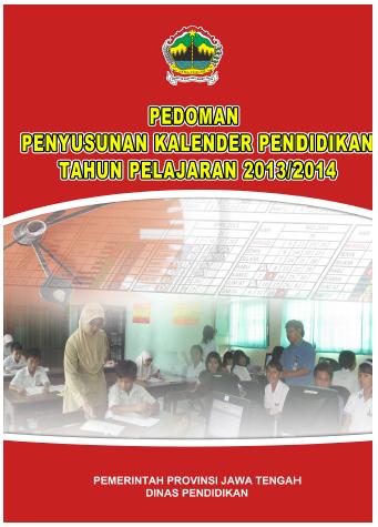 Kalender Pendidikan 2013/ 2014 Jawa Tengah