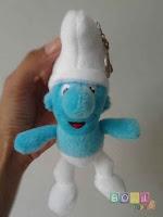 Gantungan Boneka Smurf