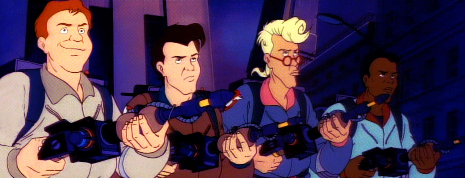 The real ghostbusters were from japan