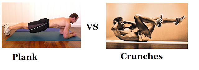 Plank VS Crunches