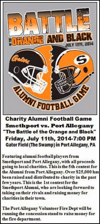 7-11 Alumni Football, Port Allegany