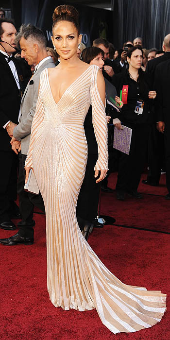 Jennifer Lopez Dress Oscars