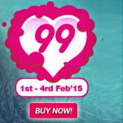 AskMeBazaar Lover Festival Rs. 99 Store, Rs. 199 Store, Rs. 299 Store, Rs. 499 Store