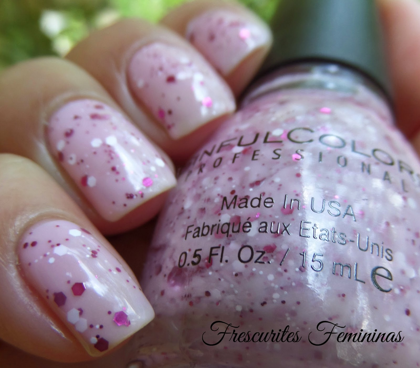 Sinful Colors, Flower Power,Bloomblast, Swatch, Nail swatch, Frescurites Femininas