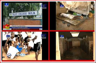VIDEO: The Deplorable State of The Nigerian Police College Dormitory (WATCH)