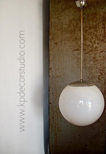 Lámparas vintage de techo
