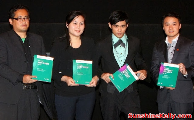 Kapersky, Internet Security 2014 Launch, Jay Chou