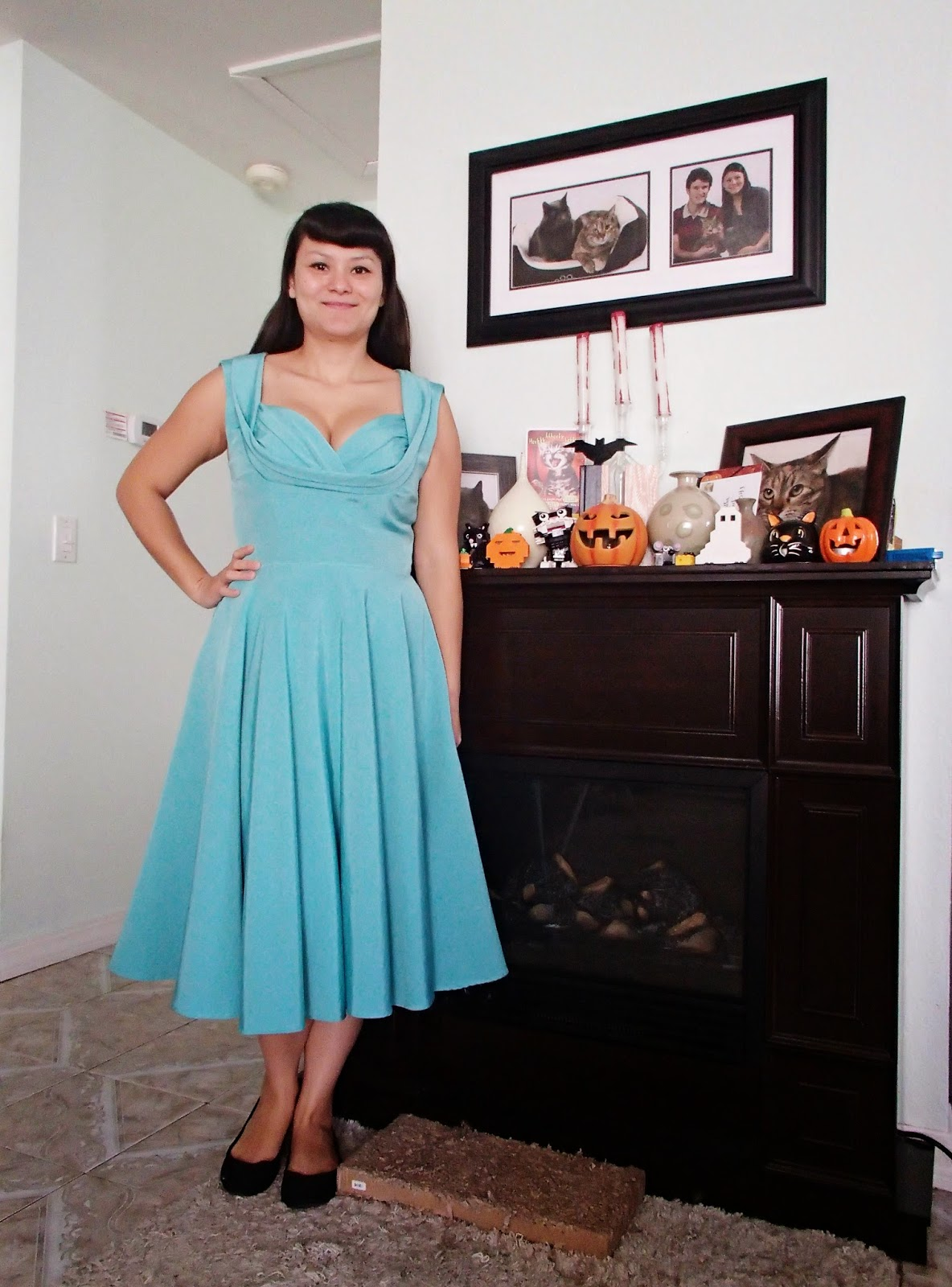 Silver Cat Tea Party: Fancy Dress For Less