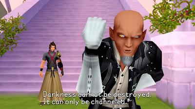 Kingdom Hearts Birth By Sleep Terra and Master Xehanort