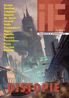 Distopie, IF – Insolito e Fantastico #7, 2011, copertina