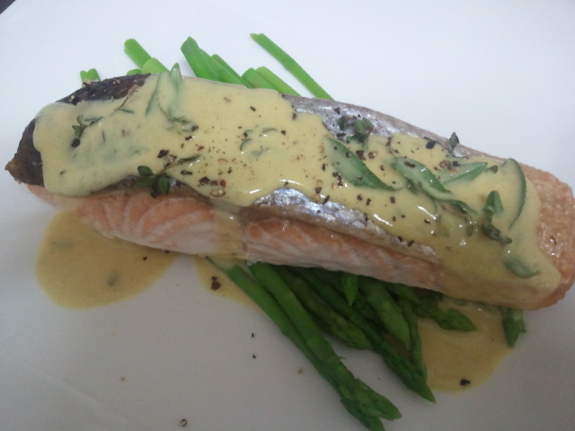 Bec Cannon 39 S Recipes Grilled Crispy Skinned Salmon With